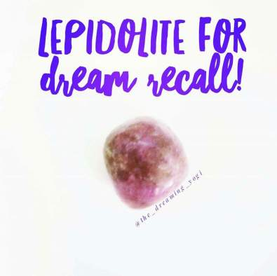 Lepidolite-recall