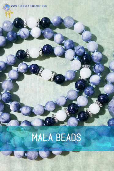 The way a mala works is you repeat a mantra as you touch every bead and repeat this for 40 days. The necklace has 108 beads plus the guru stone. By repeating these mantras you begin to...