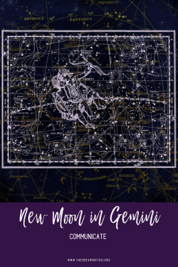 Gemini is ruled by Mercury and during this New Moon Mercury plays an even bigger role since..
