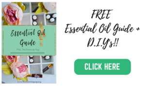 The Dreaming Yogi Essential oil guide with d.i.y's