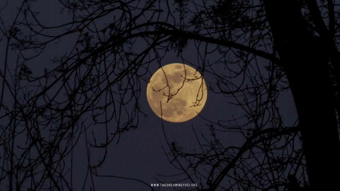 Full moon in Aries...